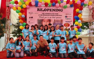 Lễ khánh thành Nhà trẻ em xã Phú Châu